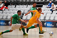 Timonthy O'Farrell  of Southern during the Men's Futsal SuperLeague, Central Futsal v Southern United Futsal at ASB Sports Centre, Wellington on Saturday 31 October 2020.<br /> Copyright photo: Masanori Udagawa /  www.photosport.nz