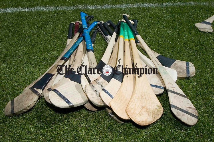 The Clare As collection is prepared for the big game in Croke Park. Photograph by John Kelly.
