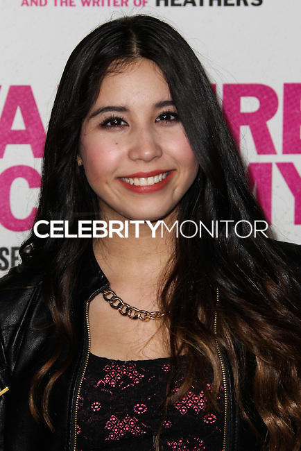 """LOS ANGELES, CA - FEBRUARY 04: Charisma Kain at the Los Angeles Premiere Of The Weinstein Company's """"Vampire Academy"""" held at Regal Cinemas L.A. Live on February 4, 2014 in Los Angeles, California. (Photo by Xavier Collin/Celebrity Monitor)"""
