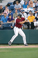 July 4, 2009: Yakima Bears' Ryan Wheeler, the Arizona Diamondbacks' 5th-round pick in the 2009 draft, at-bat during a Northwest League game against the Everett AquaSox at Everett Memorial Stadium in Everett, Washington.