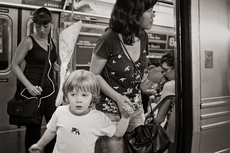 """Photograph by Stan Raucher from the project """"Metro Moments"""""""