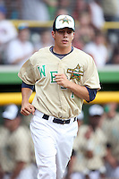June 24, 2009: Joe Testa of the Beloit Snappers at the 2009 Midwest League All Star Game at Alliant Energy Field in Clinton, IA.  Photo by: Chris Proctor/Four Seam Images