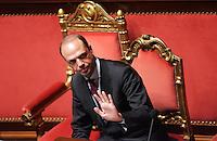 ANGELINO ALFANO<br /> Roma 20/01/2010 Senato. Relazione sulla Giustizia del Ministro della Giustizia.<br /> Minister of Justice speaks to the Senate about Italian justice.<br /> Photo Samantha Zucchi Insidefoto