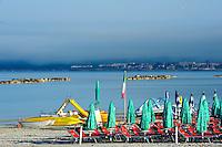 Strand Spiaggia di San Giovanni, Alghero, Provinz Sassari, Nord - Sardinien, Italien