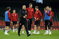 Ryan Giggs Manager of Wales during the Wales Training Session at The Principality Stadium in Cardiff, Wales, UK. Wednesday 10 October 2018