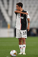 Paulo Dybala of Juventus reacts during the Serie A football match between Juventus FC and US Lecce at Juventus stadium in Turin  ( Italy ), June 26th, 2020. Play resumes behind closed doors following the outbreak of the coronavirus disease. Photo Andrea Staccioli / Insidefoto