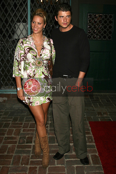 Andrew Newton-Lee and guest<br />at the opening party for the Lloyd Klein Flagship Store. Lloyd Klein Flagship Store, Los Angeles, CA. 11-14-06<br />Dave Edwards/DailyCeleb.com 818-249-4998
