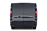 Straight rear view of a 2020 Renault Trafic Grand-Confort 4 Door Cargo Van stock images