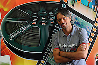 Colleferro.Il proprietario del Cinema Ariston, Daniele Mandova.
