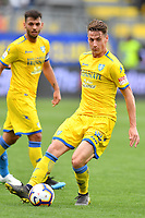 Andrea Pinamonti of Frosinone in action during the Serie A 2018/2019 football match between Frosinone and SSC Napoli at stadio Benito Stirpe, Frosinone, April 28, 2019 <br /> Photo Andrea Staccioli / Insidefoto