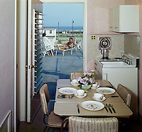 El Ray Motel, Wildwood, NJ. Efficiency Room and ocean view. 1960's