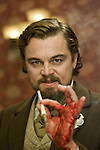 Calvin Candie (Leonardo DiCaprio) in Django Unchained...- Editorial Use Only -..Supplied by face to face