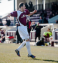 Arbroath's Alex Keddie celebrates after he scores their late winner.