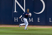 Arizona Wildcats right fielder Matt Frazier (22) during an NCAA game against the NDSU Bison at Hi Corbett Field on March 9, 2018 in Tucson, Arizona. Arizona defeated North Dakota State University 13-3. (Zachary Lucy/Four Seam Images)