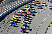 Monster Energy NASCAR Cup Series<br /> GEICO 500<br /> Talladega Superspeedway, Talladega, AL USA<br /> Sunday 7 May 2017<br /> Denny Hamlin, Joe Gibbs Racing, FedEx Express Toyota Camry and Dale Earnhardt Jr, Hendrick Motorsports, Nationwide Chevrolet SS<br /> World Copyright: Nigel Kinrade<br /> LAT Images<br /> ref: Digital Image 17TAL1nk06405