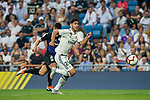 Marco Asensio Willemsen (R) of Real Madrid is followed by Unai Bustinza, Bustinza M, of CD Leganes during the La Liga 2018-19 match between Real Madrid and CD Leganes at Estadio Santiago Bernabeu on September 01 2018 in Madrid, Spain. Photo by Diego Souto / Power Sport Images