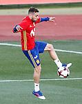 Spain's Jordi Alba during training session. March 20,2017.(ALTERPHOTOS/Acero)