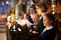 Salisbury Cathedral choristers rehearse in their bubbles for the first time after lockdown.