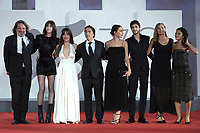 Olivier Delbosc, Audrey Dana, Yvan Attal, Suzanne Jouannet, Ben Attal attending the Les Choses Humaines Premiere as part of the 78th Venice International Film Festival in Venice, Italy on September 09, 2021. <br /> CAP/MPI/IS/PAC<br /> ©PAP/IS/MPI/Capital Pictures