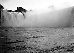 Niagara Falls, New York:  Brady Stewart taking a photograph of the Horseshoe Falls from the Maid of the Mist.