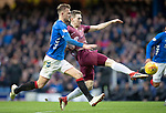 Rangers v St Johnstone…16.02.19…   Ibrox    SPFL<br />Blair Alston hits the cross bar with his shot<br />Picture by Graeme Hart. <br />Copyright Perthshire Picture Agency<br />Tel: 01738 623350  Mobile: 07990 594431