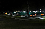 Tents are set up at base camp for JPAC teams to search for remains of missing American military from the Vietnam war at Ta Oy, Laos on Tuesday, November 6, 2012. (Star-Telegram/Khampha Bouaphanh)