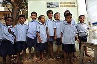 Children at the Valluvar Kalvi Nilayam Primary School in Salem, Tamil Nadu, India. The school  was the group winner of the LR250 Campaign Clean & Safe Drinking Water.