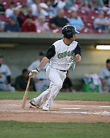 Mike Massaro of the Kane County Cougars during the Midwest League All-Star game.  Photo by:  Mike Janes/Four Seam Images