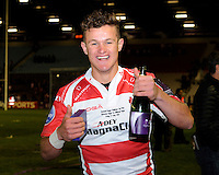 Billy Burns of Gloucester Rugby
