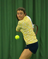 Rotterdam, The Netherlands, March 18, 2016,  TV Victoria, NOJK 14/18 years, Anna Brinkman Adsarias (NED)<br /> Photo: Tennisimages/Henk Koster
