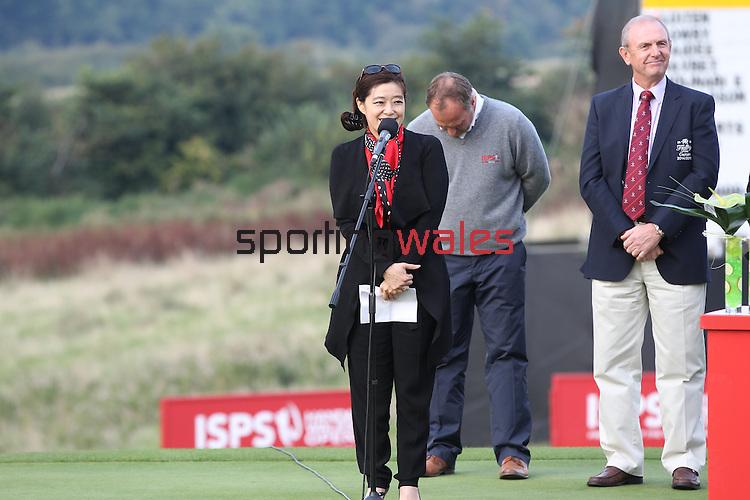 ISPS Handa Wales Open<br /> Presentation party.<br /> Celtic Manor Resort<br /> 21.09.14<br /> ©Steve Pope-SPORTINGWALES