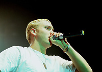 Montreal, April, 21, 2000<br /> Rap performer `` Eminem ``  during a recent concert.