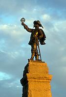 Ottawa, Canada, Ontario, Champlain Monument in Ottawa.