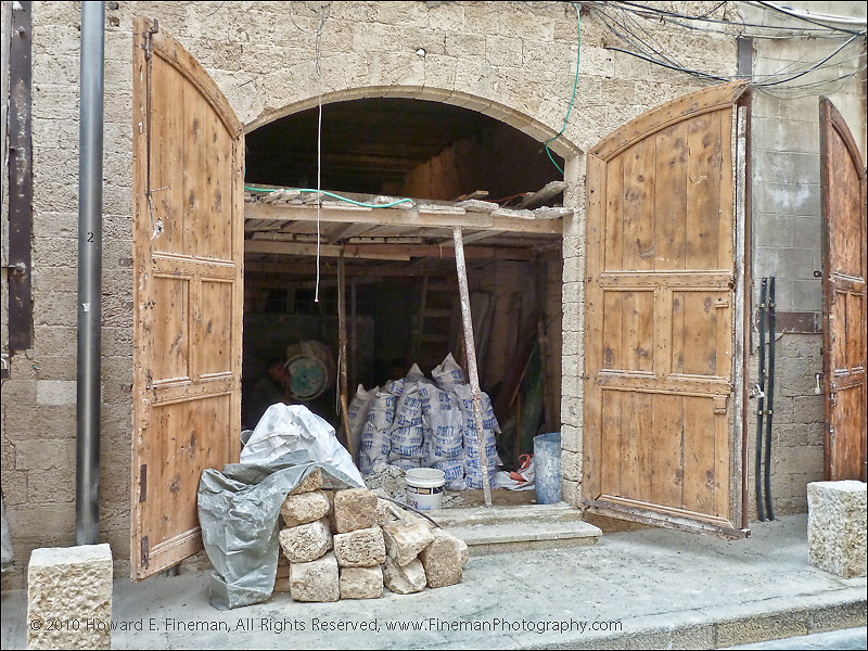 Building Restoration, Old Jaffa