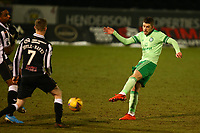 10th February 2021; St Mirren Park, Paisley, Renfrewshire, Scotland; Scottish Premiership Football, St Mirren versus Celtic; Ryan Christie of Celtic hits a shot towards goal