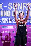 Tai Tzu Ying of Taiwan celebrates altering defeating Pusarla V. Sindhu of India during their Women's Singles Final of YONEX-SUNRISE Hong Kong Open Badminton Championships 2016 at the Hong Kong Coliseum on 27 November 2016 in Hong Kong, China. Photo by Marcio Rodrigo Machado / Power Sport Images
