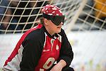 Nancy Morin, Toronto 2015 - Goalball.<br /> Canada's women's Goalball team plays in the bronze medal game // L'équipe féminine de goalball du Canada participe au match pour la médaille de bronze. 14/08/2015.