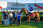 TORONT,CANADA-SEP 14: Old Persian,ridden by James Doyle, after winning the Northern Dancer Turf at Woodbine Race Track on September 14,2019 in Toronto,Ontario,Canada. Kaz Ishida/Eclipse Sportswire/CSM