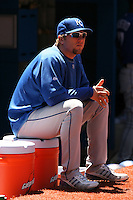 May 25th 2008:  Pitcher Brett Tomko (25) of the Kansas City Royals before a game at the Rogers Centre in Toronto, Ontario, Canada .  Photo by:  Mike Janes/Four Seam Images