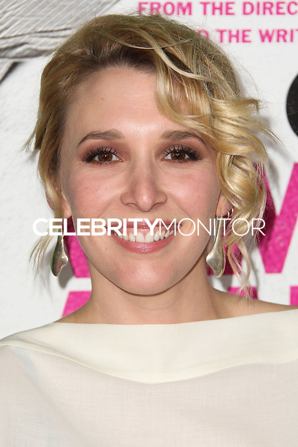 """LOS ANGELES, CA - FEBRUARY 04: Madelyn Deutch at the Los Angeles Premiere Of The Weinstein Company's """"Vampire Academy"""" held at Regal Cinemas L.A. Live on February 4, 2014 in Los Angeles, California. (Photo by Xavier Collin/Celebrity Monitor)"""