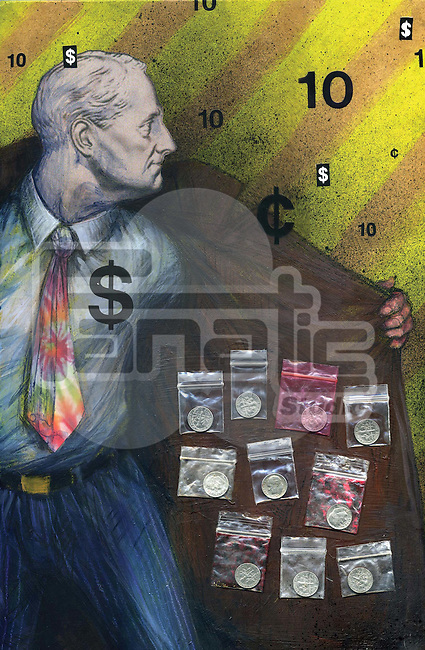 Black-market businessman