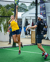 Den Bosch, Netherlands, 16 June, 2018, Tennis, Libema Open, Padel, semi final Mixed<br /> Photo: Henk Koster/tennisimages.com