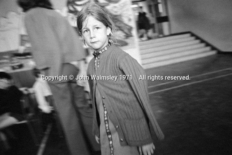 Kids at Julian's Primary School, Streatham, London.  1971.