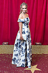 © Licensed to London News Pictures . 16/05/2015 .  The Palace Hotel , Manchester , UK . Daisy Wood-Davis . The red carpet at the 2015 British Soap Awards , The Palace Hotel , Oxford Road , Manchester . Photo credit : Joel Goodman/LNP