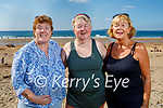 Enjoying the afternoon on Ballybunion beach on Tuesday, l to r: Ann Ryle, Bernie Spring and Patsy O'Connor from Tralee.