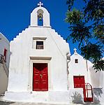 Greece, Cyclades, Mykonos: Church (detail)   Griechenland, Kykladen, Mykonos: Kirche