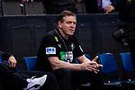 Alfred Gislason (Trainer Handball Nationalmannschaft Deutschland) ; EHF EURO-Qualifikation / EM-Qualifikation / Handball-Laenderspiel: Deutschland - Estland am 02.05.2021 in Stuttgart (PORSCHE Arena), Baden-Wuerttemberg, Deutschland.<br /> <br /> Foto © PIX-Sportfotos *** Foto ist honorarpflichtig! *** Auf Anfrage in hoeherer Qualitaet/Aufloesung. Belegexemplar erbeten. Veroeffentlichung ausschliesslich fuer journalistisch-publizistische Zwecke. For editorial use only.