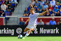 HARRISON, NJ - SEPTEMBER 29: Joanna Boyles #25 of the Orlando Pride during a game between Orlando Pride and Sky Blue FC at Red Bull Arena on September 29, 2019 in Harrison, New Jersey.