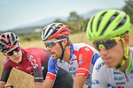 The peloton including Thibaut Pinot (FRA) Groupama-FDJ and  Pavel Sivakov (RUS) Team Ineos during Stage 2 of the Route d'Occitanie 2020, running 174.5km from Carcassone to Cap Découverte, France. 2nd August 2020. <br /> Picture: Colin Flockton | Cyclefile<br /> <br /> All photos usage must carry mandatory copyright credit (© Cyclefile | Colin Flockton)