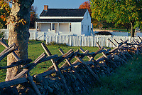 Meade's Headquarters<br /> Gettysburg National Military Park<br /> Pennsylvania